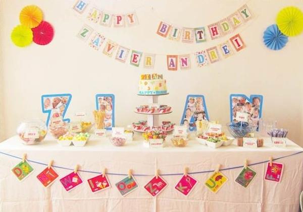 Zian's Alphabet Party