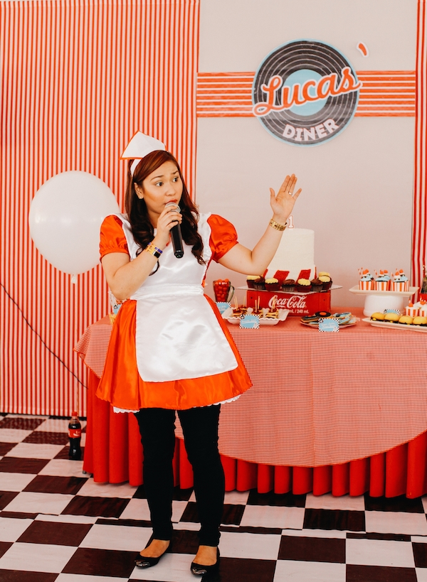 Homemade Parties_DIY Party_50s Diner Party_Lucas81