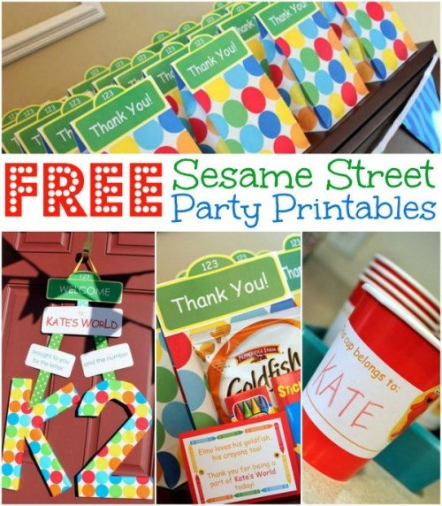 Homemade Parties_DIY Party_Sesame Street Printables03