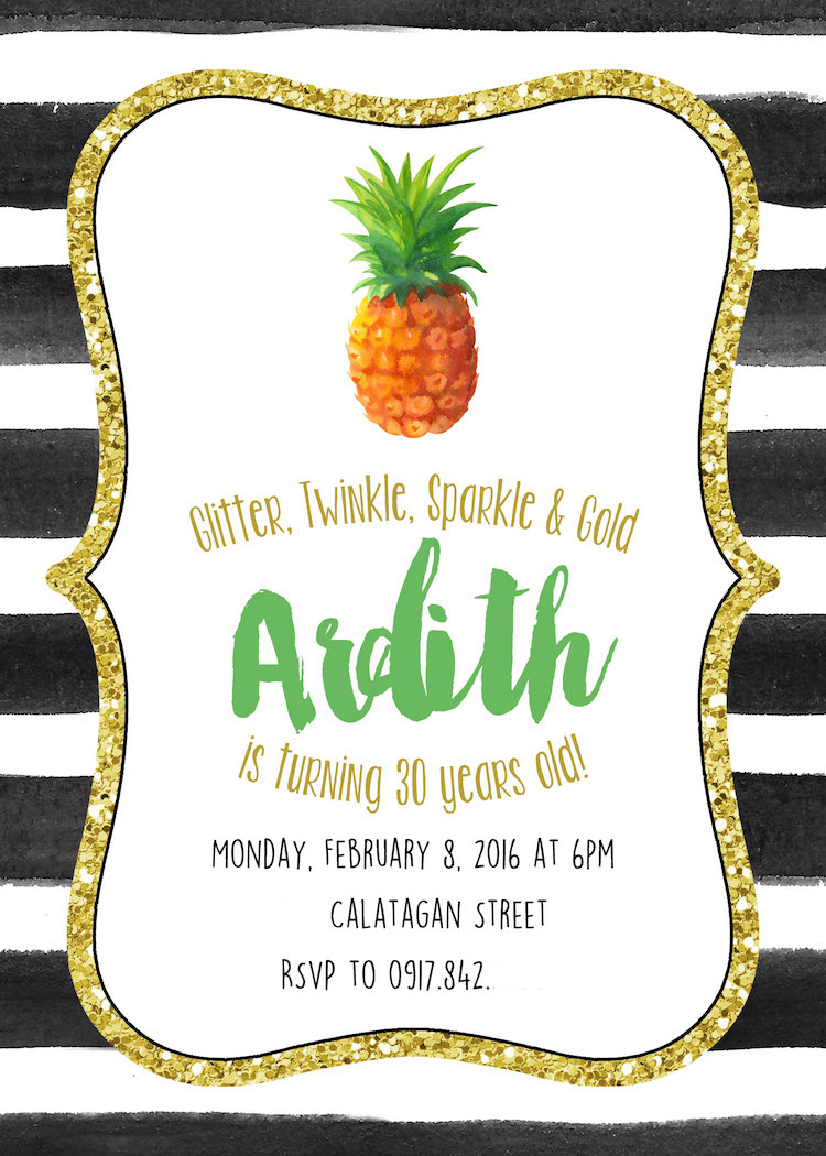 Homemade Parties_DIY Pineapple Party_Ardith05