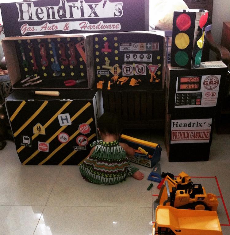 DIY Cardboard Contruction and Mechanics Playset13