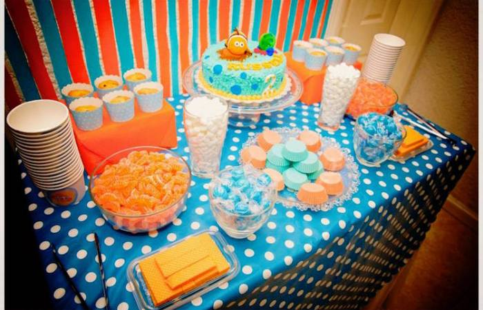 Russell's Finding Nemo Party