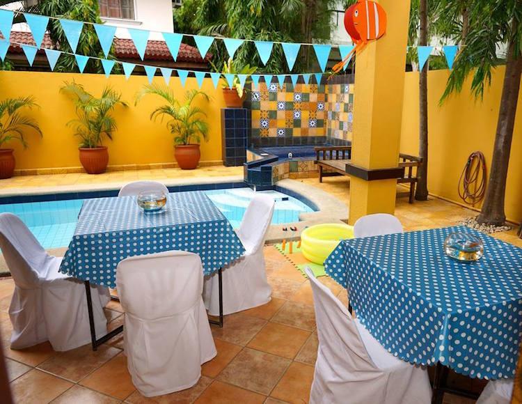 Homemade Parties DIY Finding Nemo Dory _ Russel15