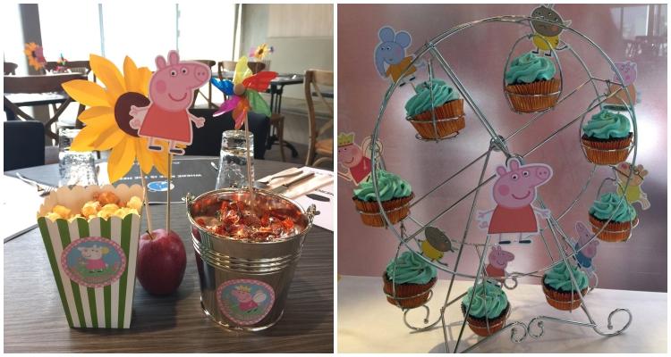 Homemade Parties DIY Peppa Pig Party _ Jose11