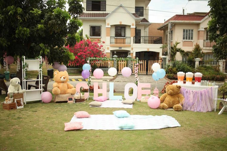 Homemade Parties DIY Party _Bear Party Chloe05