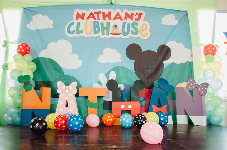 Homemade Parties DIY Party _Mickey Mouse Party Nathan05