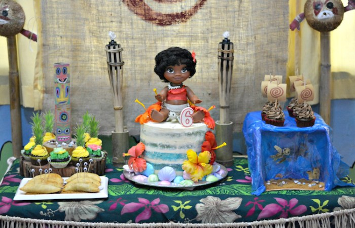 Briel's Moana Party