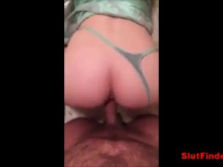 Teen Hookup Bent Over And Fucked POV Homemade