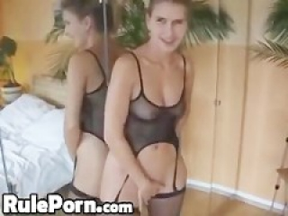 Homemade Horny Wife rides and Creampies