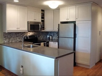 kitchen kitchens designs remodeling remodel galley layout decorating grey homemakeover iwm