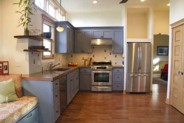 kitchen layouts designs layout shaped efficient without island countertops