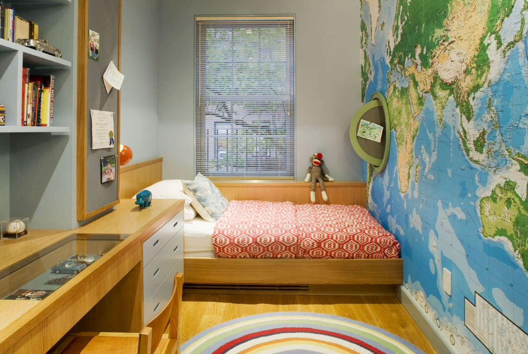 25 Vivacious Kids Rooms With Brick Walls Full Of Personality: Kids Bedroom Ideas For Small Rooms