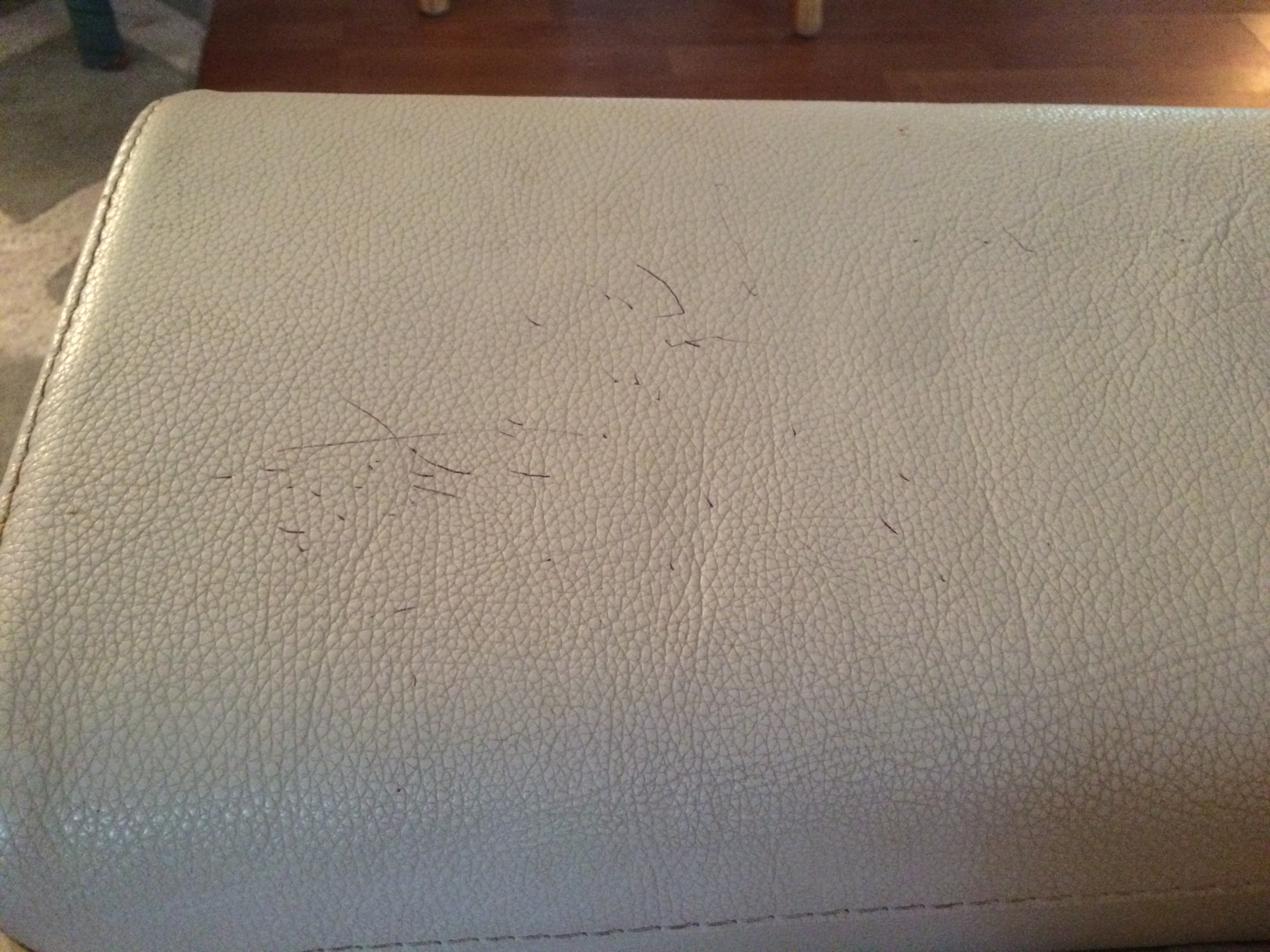 ink stain leather sofa stores manhattan nyc how to remove pen from furniture homemaker chic