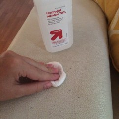 How To Erase Pen Ink From Leather Sofa Turns Into Bunk Beds Remove Furniture Homemaker Chic