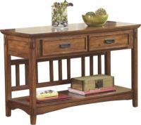 Ashley Cross Island Console Sofa Table | Homemakers Furniture