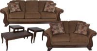 Ashley Montgomery Sofa, Loveseat & 3 Pack of Tables ...
