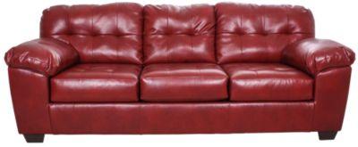Ashley Red Leather Sofa Ashley Red Leather Sofa Avarii Org