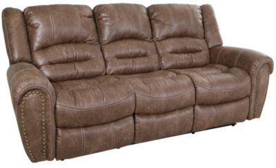 flexsteel reclining sofa warranty whitney modern ivory leather and loveseat set downtown   homemakers furniture