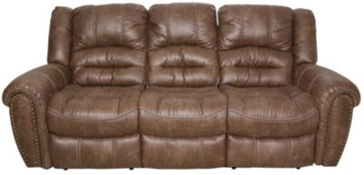 flexsteel double reclining sofa reviews pottery barn cameron downtown power homemakers furniture