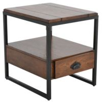 Hammary Furniture Baja End Table with Drawer | Homemakers ...