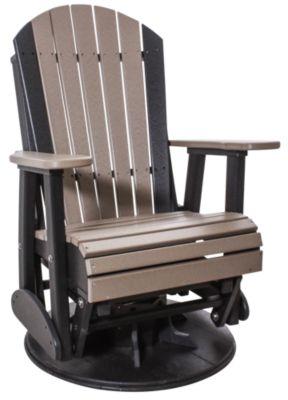 cheap glider chair plastic chiavari amish outdoors adirondack outdoor swivel homemakers