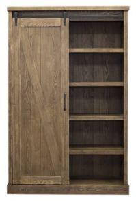 Martin Furniture Avondale Barn Door Bookcase | Homemakers ...