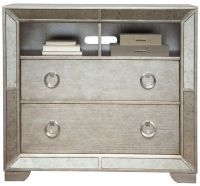 Pulaski Farrah Mirrored Media Chest | Homemakers Furniture