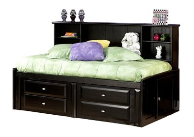 Trend Wood Laguna Full Storage Bed Homemakers Furniture