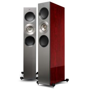 KEF Reference 3 Floorstanding Speakers Luxury Gloss Rosewood