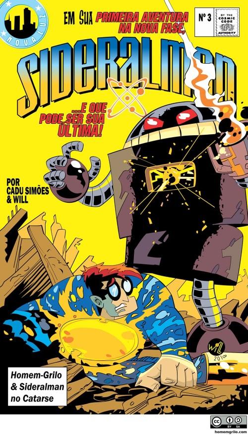 O Retorno do Robô-Retrô - Capa