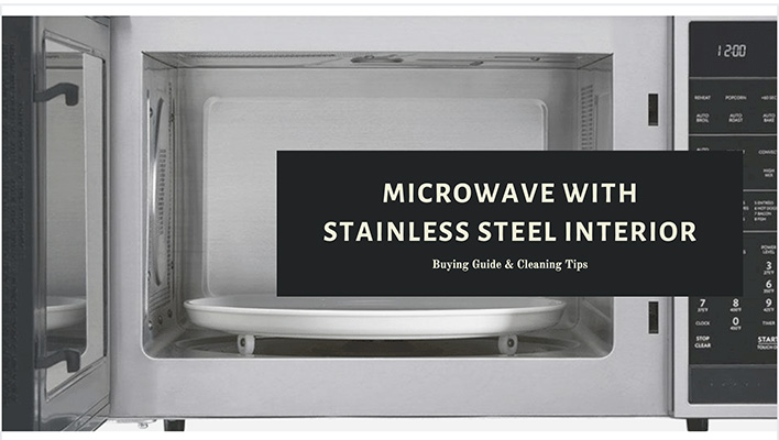 best microwaves with stainless steel