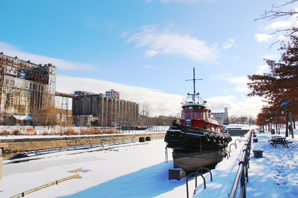 port montreal bateau