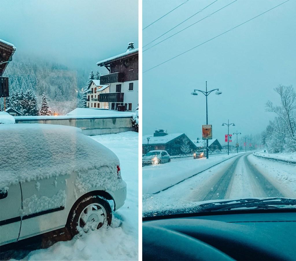 neige premier jour
