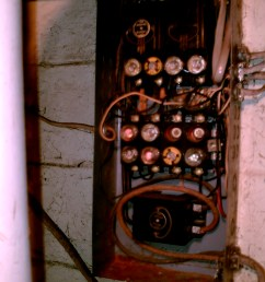 when we bought the house it had the old electrical fuse box the above pictures [ 1920 x 2560 Pixel ]