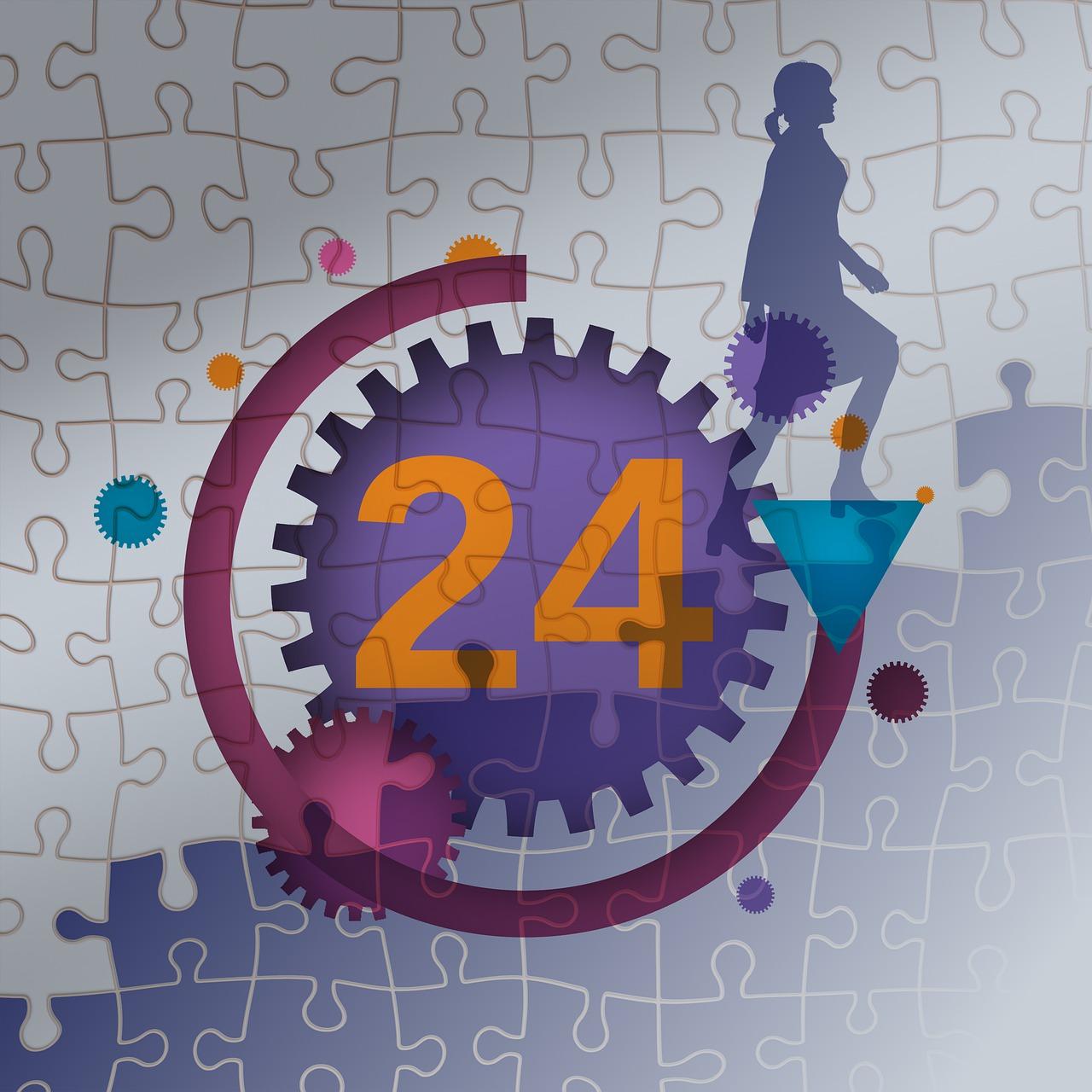 puzzle, businesswoman, stairs-5645602.jpg
