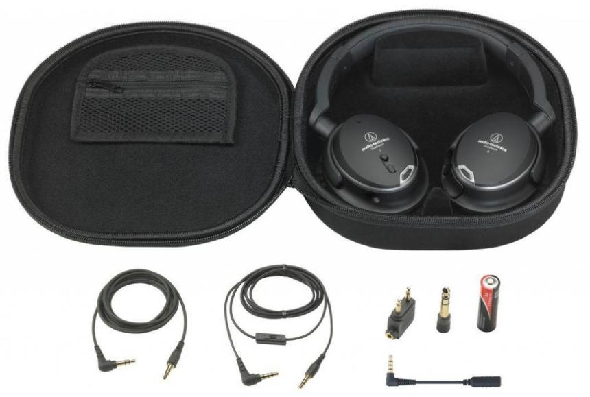 Audio Technica ATH-ANC9 aktív zajkioltó fejhallgató
