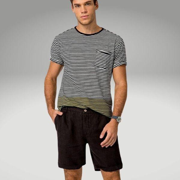 Peças básicas do guarda-roupa masculino - bermuda - Único