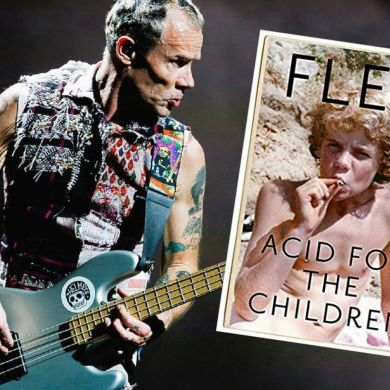 Único - biografia de Flea do Red Hot Chilli Peppers