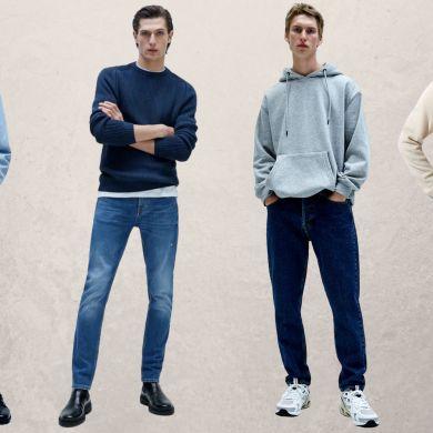 Slim skinny straight loose regular - tipos de jeans masculinos - carrot - taper jeans