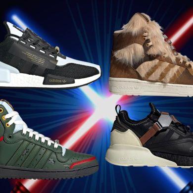 Único - adidas lança novos tênis inspirados em Star Wars