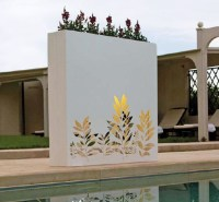 Outdoor Wall Pots and Planters Design by Bysteel | Home ...