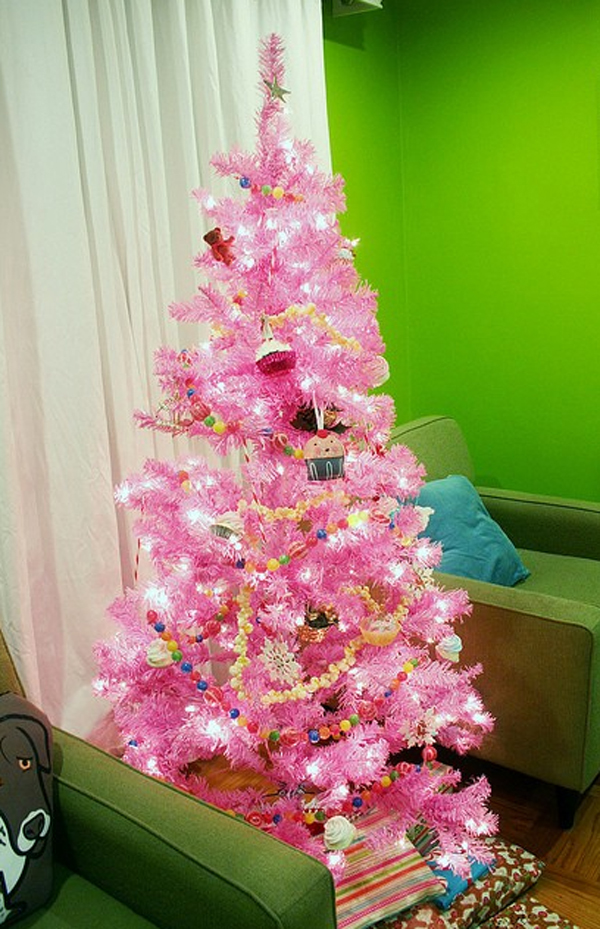 If you are looking for inexpensive bedroom decorating ideas, check out these great pieces for under $100. beautiful-pink-christmas-tree-decor-ideas | HomeMydesign