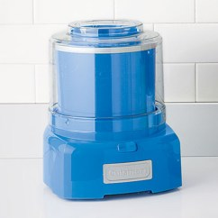 Cool Kitchen Appliances Island Stainless Steel Top With Blue Ice Cream Maker Home Design And