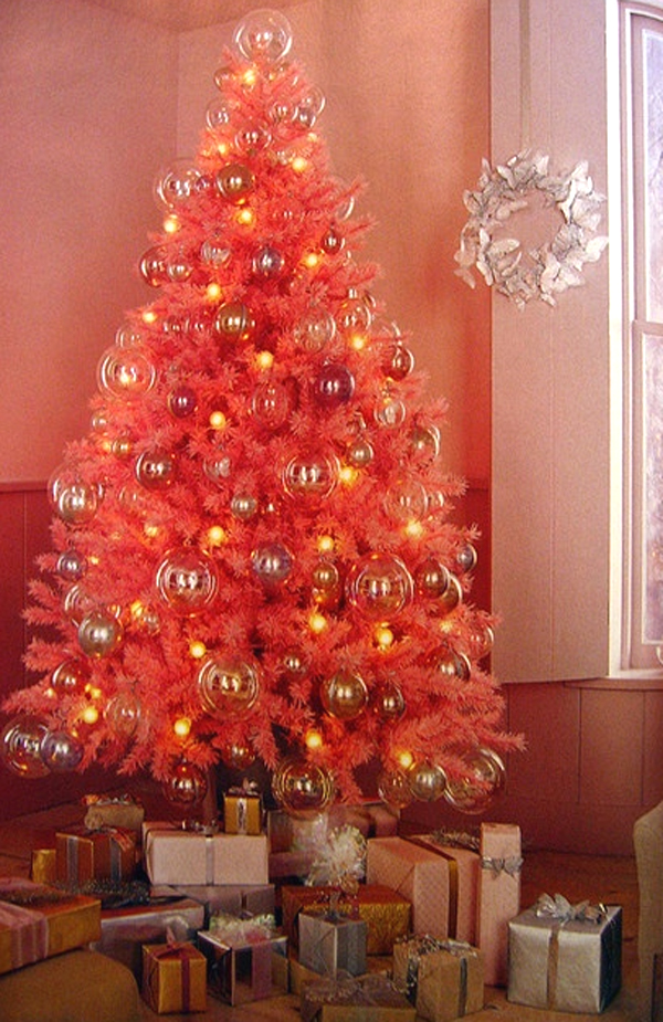 ideas for decorating my living room christmas green color palette cute-and-beautiful-pink-christmas-tree-decoration-ideas