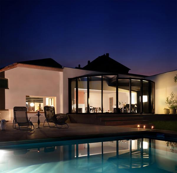 15 Collection of Modern Glass Veranda by OpenSun  Home