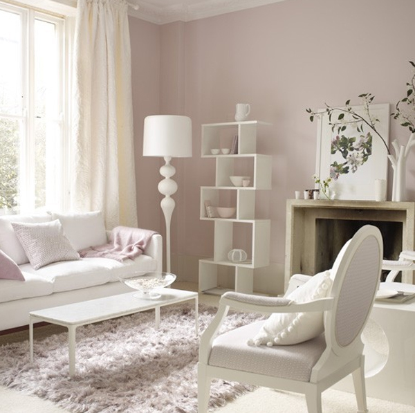Pink Pastel Living Room Decorating Ideas