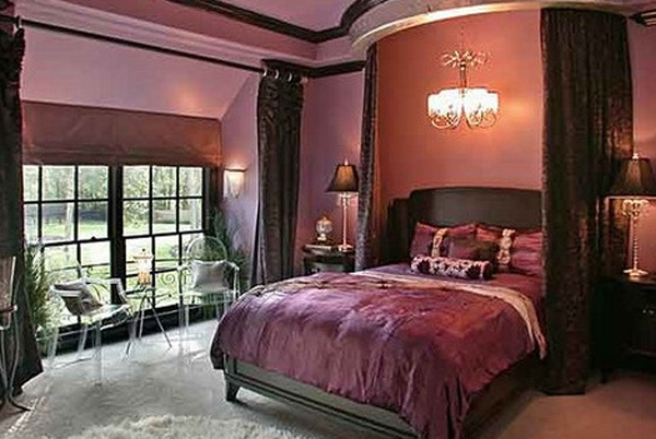 stylishandcutegothicbedroomideas