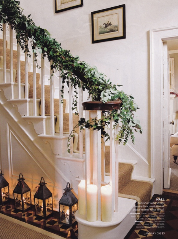 Christmas Decorations For Staircase