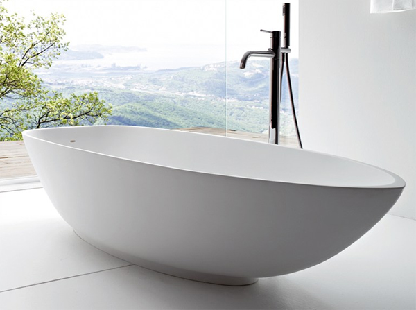 Contemporary Bathtub With Japanese Philosophy From Rexa Design Home Design And Interior