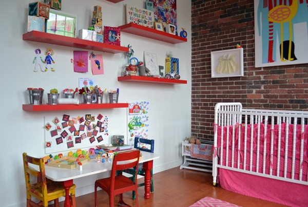 15 Cool And Wonderful Kids Room Design With Office